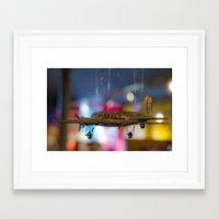 plane Framed Art Prints featuring Plane by Sébastien BOUVIER