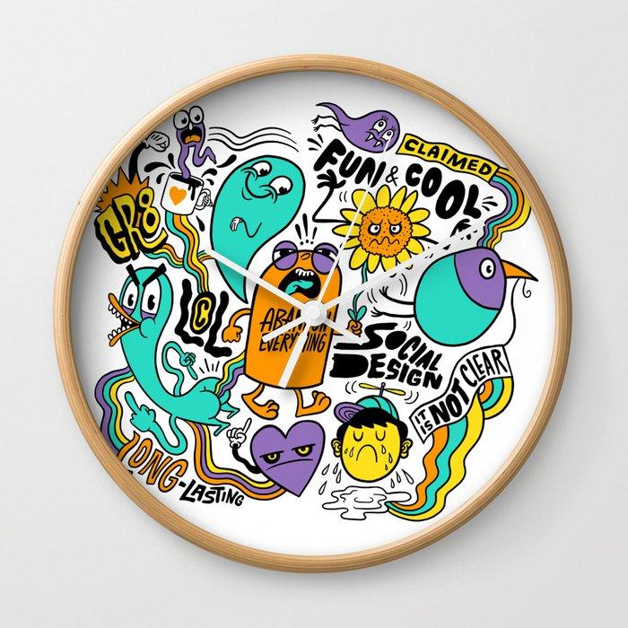 Fun & Cool Wall Clock
