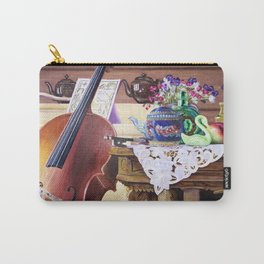 Cello Still Life Carry-All Pouch