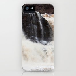 Falls with Iron Content iPhone Case
