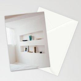 Bright interior; artprint inspiration white minimal scandinavian modernistic decor cozy home  Stationery Cards