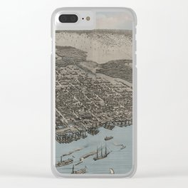 Jacksonville 1876 Clear iPhone Case
