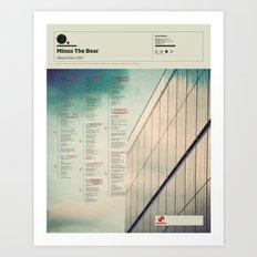 The Visual Mixtape 2010 | Planet Of Ice | 01 / 25 Art Print