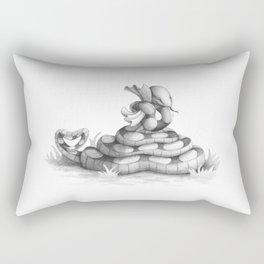 Valentine Snake Rectangular Pillow