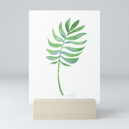 Tropical Palm Leaf Mini Art Print