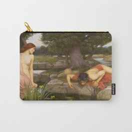 John William Waterhouse - Echo and Narcissus Carry-All Pouch