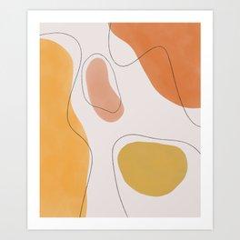 Shapes I Art Print