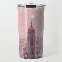 Stardust Covering New York Travel Mug