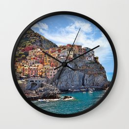 Colorful Italy Wall Clock