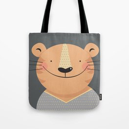 Tiger in pajamas Tote Bag