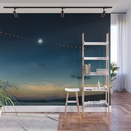 Total Eclipse Wall Mural