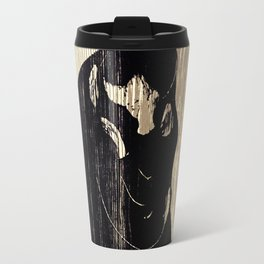 "Edvard Munch ""The Kiss"", 1897 Travel Mug"