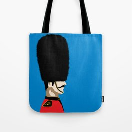 Grand mustache Beefeater Tote Bag