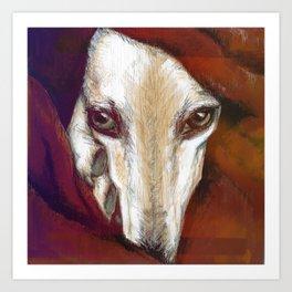 Red Lur I Illustrious dogs. Art Print