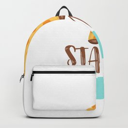 Giraffe Quotes Stand Tall Backpack