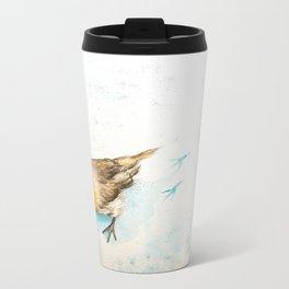 A winter morning Metal Travel Mug