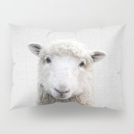 Sheep - Colorful Pillow Sham