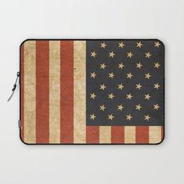Aged US Flag Laptop Sleeve