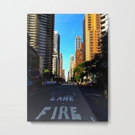 Street in NYC Metal Print