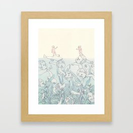 Another Mother - Selection Framed Art Print