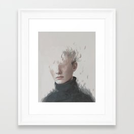 The story of a boy who disappeared Framed Art Print