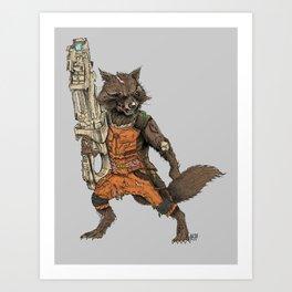 Zocket Art Print