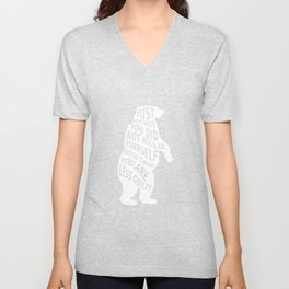 Because Didn't Kill It Doesn't Mean You Less Guilty T-Shirt Unisex V-Neck