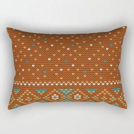 Pattern in Grandma Style #47 Rectangular Pillow