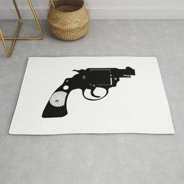 Detectives Revolver Rug