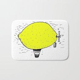 Lemon zeppelin Bath Mat