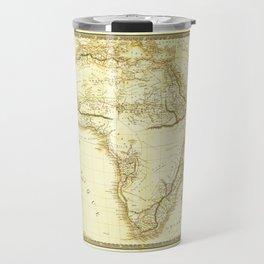 Map of Africa circa 1820 (Carte de l'Afrique) Travel Mug