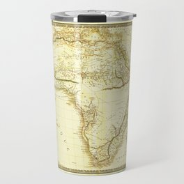Map of Africa circa 1820 (Carte de l'Afrique) Travel Mug
