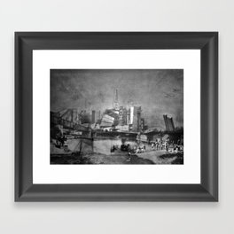 Rivercrossing Framed Art Print
