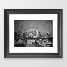 Rivercrossing Framed Art Print