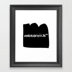 mindenkihülye™ black Framed Art Print
