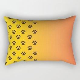 Animal's footprint Rectangular Pillow