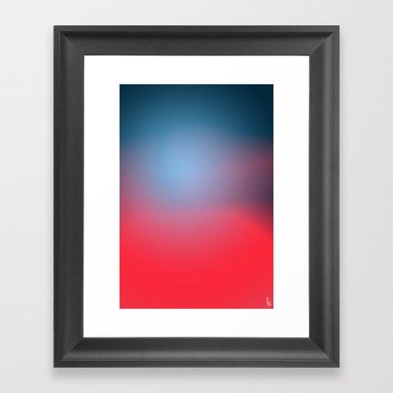 Soft Horizon Framed Art Print
