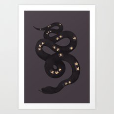 Magic Bus Ride Art Print