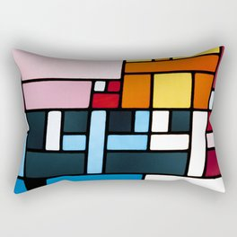 Sophie Taeuber Arp Abstract Composition Rectangular Pillow