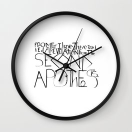 APOT Wall Clock