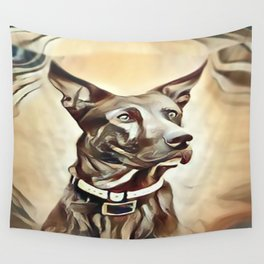 A Belgian Malinois Wall Tapestry