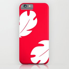 Lilo Hawaiian Floral Leaves iPhone Case