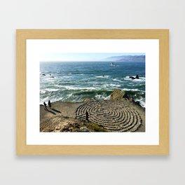 labyrinth Framed Art Print