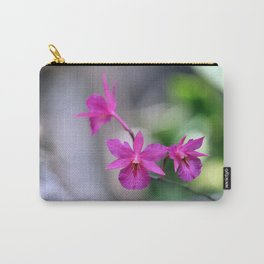 Pink Orchide Carry-All Pouch
