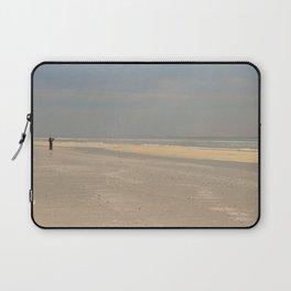 the photographer on the beach Laptop Sleeve