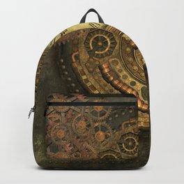Awesome steampunk design, clockwork Backpack