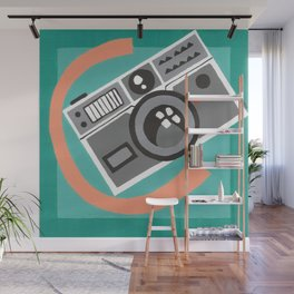 C is for Camera Wall Mural