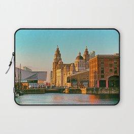 Pier Head and the Albert Dock Laptop Sleeve