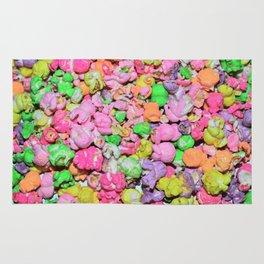 Colored Popcorn Rug