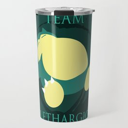 Team Lethargic Travel Mug
